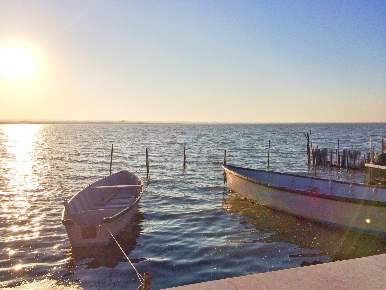 Barche sul Lago di Lesina