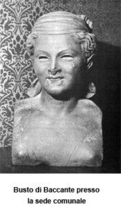 Busto di Baccante (Manfredonia, FG) foto di Manfredoniafoto.it