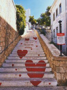 Scalinata dell'amore, Vieste