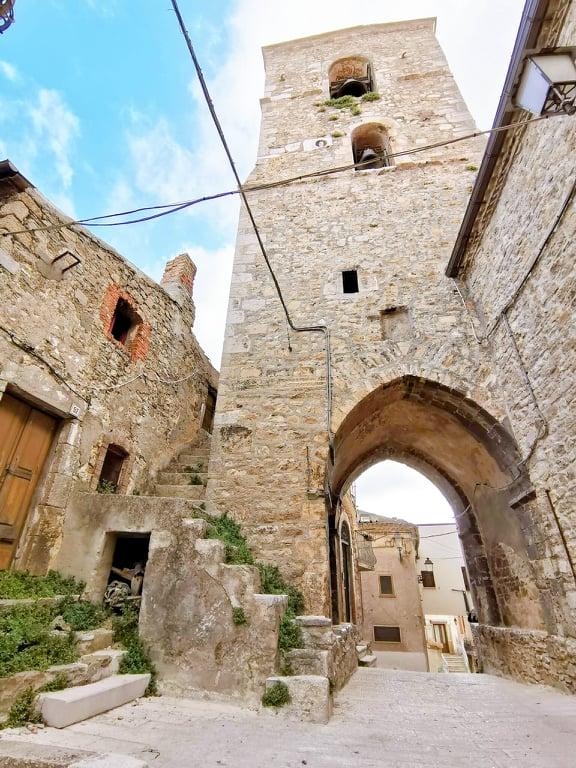 Motta Montecorvino. Foggia, Puglia.