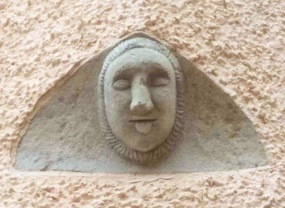 Biccari mascherone. Foggia, Puglia.